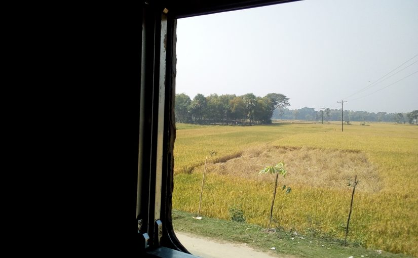 Ankunft in Mymensingh